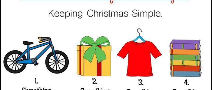 simple christmas gift challenge