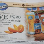 Save $5 on Oranges with this Blue Moon Printable Mail in Rebate