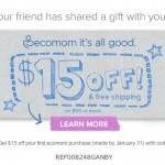 ecomom $15 coupon