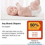 Babies R Us Diaper 2 Day Sale: As Low As 8¢ Per Size 1 Diaper After Endorse
