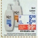 Free Keri Lotion at Rite Aid