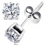 Blingy Cubic Zirconia Earrings only $0.99