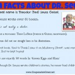 fun facts about dr. seuss for kids
