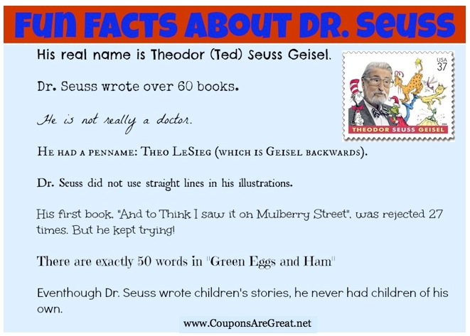 dr seuss research
