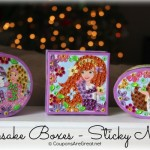 Sticky Mosaics Keepsake Boxes Are Fun for Preschool and Elementary Aged Kids