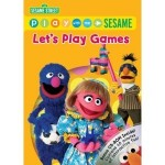 Sesame Street Let's Play Games DVD + Bonus CD only $3.99