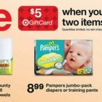 target diaper deal on pampers
