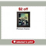 target free picture frame