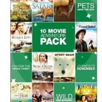 10-Movie Family Adventure Pack DVD Only $4.99