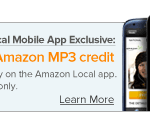 amazon local free amazon mp3 credit