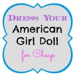 american girl doll clothes for cheap