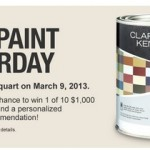 free paint saturday