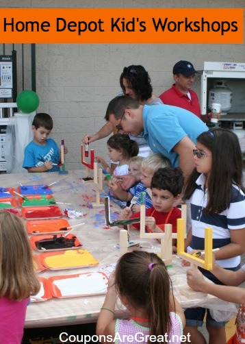 Tips For Attending A Home Depot Or Lowes Kids Workshop