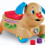 Fisher-Price Laugh & Learn Stride-to-Ride Puppy only $24.99