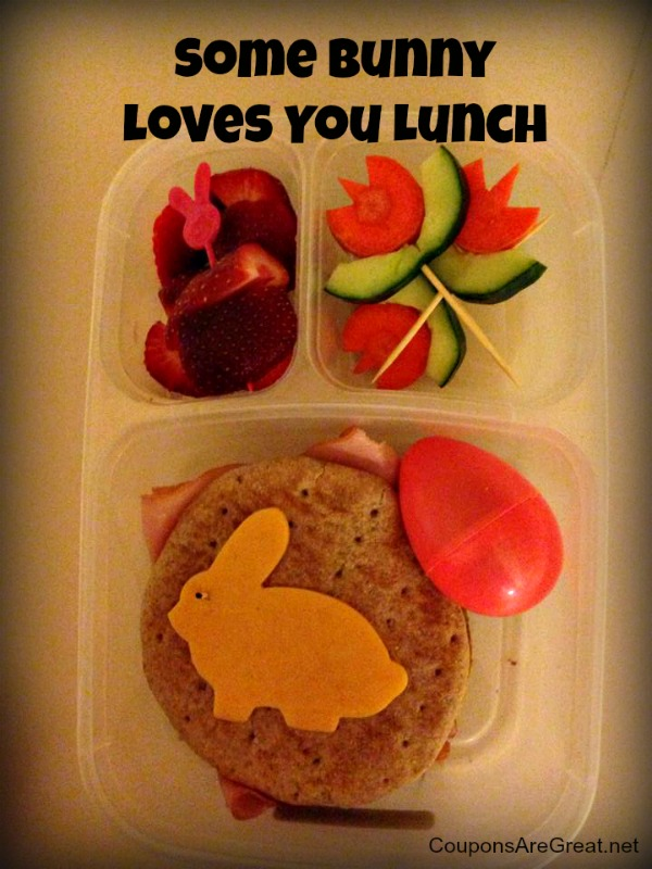 some bunny loves you bunny bento lunch easy lunchbox