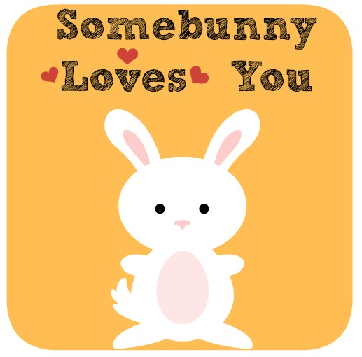 somebunny loves you bunny bento lunch with lunch note. Black Bedroom Furniture Sets. Home Design Ideas