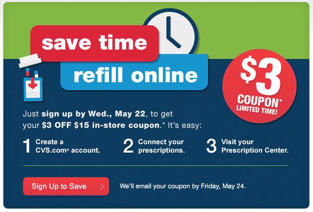 printable cvs coupon  save  3 off  15 purchase