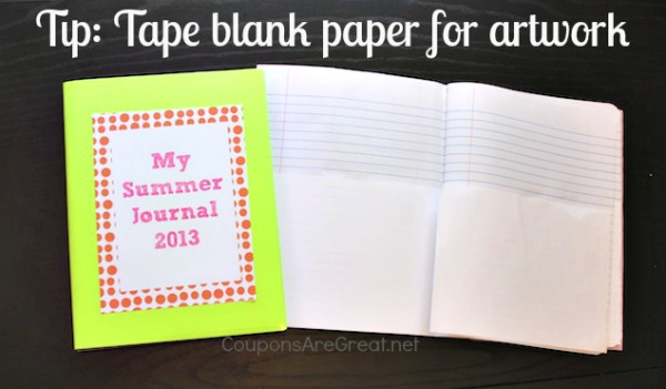 DIY Composition Journal Paper
