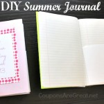 DIY – Create a Summer Journal