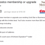 costco deal on zulily