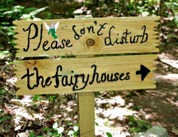 please do not disturb the fairy houses
