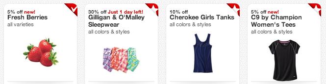 target cartwheel offers