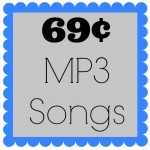 Over 200 Amazon MP3 Songs for 69 Cents Each