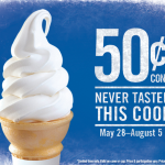 burger king ice cream cone deal