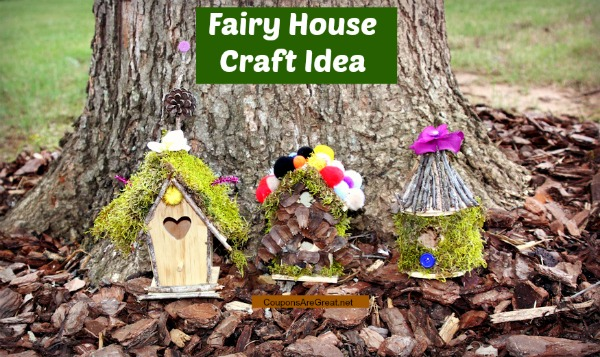 Fairy House Craft Idea Create a Fairy House Village or Fairy Garden