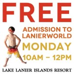 Free Admission to Lake Lanierworld Water Park #Atlanta