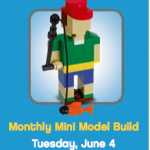 Free Event for Kids – June 2013 Lego Build – Fisherman