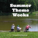 Frugal Summer Fun Ideas: Summer Theme Week Ideas