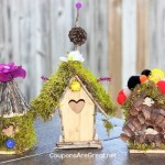 Fairy House Craft Idea: Create a Fairy House Village or Fairy Garden
