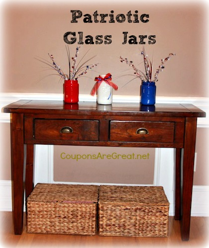 4th of July Jars