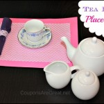 Tea Party Craft: Tea Party Placemats