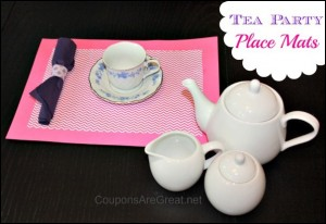 Tea Party Place Mats