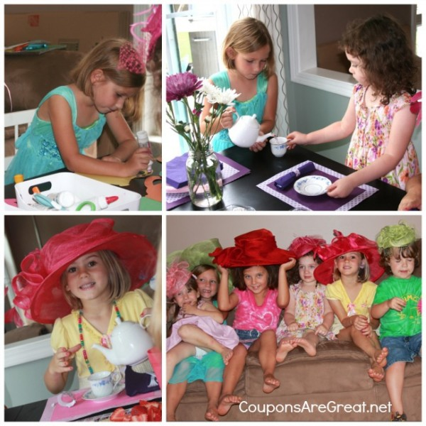 Cadbury Tea Party Collage
