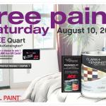 free quart ace paint