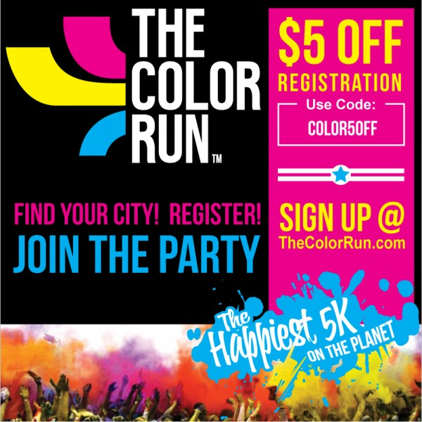 Check out our 3 The Color Run promo codes including 3 sales. Most popular now: Shop Apparel. Latest offer: Register for The Color Run Today.