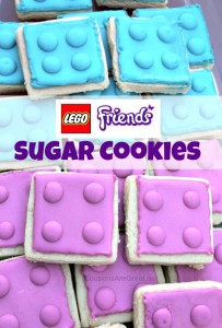 LEGO Friends Sugar Cookies are perfect for ANY occasion - especially birthday parties.