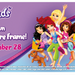 free lego friends picture frame