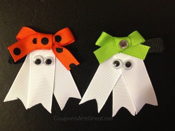 ghost bows for halloween