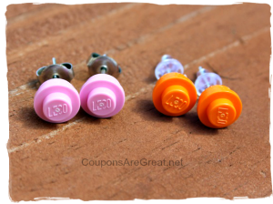Make LEGO earrings with this tutorial and make someone very happy.