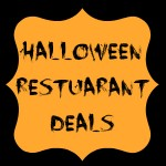 halloween restuarant deals
