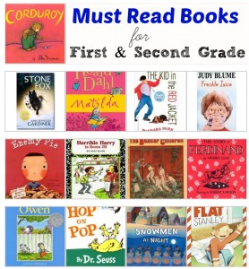 must read books first second grade