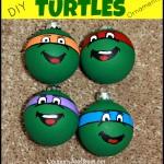 DIY Teenage Mutant Ninja Turtles Ornaments Tutorial
