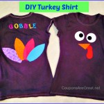 DIY Turkey Shirt Tutorial: Perfect for Kids and Adults (and Half Marathons too)