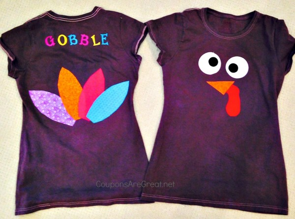 diy turkey shirt