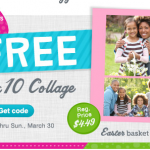 free walgreens 8x10 collage easter