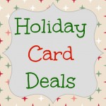 holiday card deals